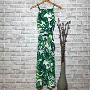NWOT Roz & Ali Tropical Print Stunning Midi Dress